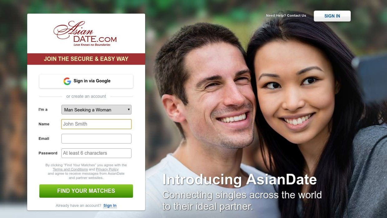 Asian Date Online Dating Post Thumbnail